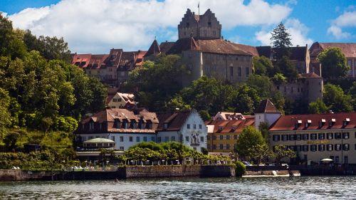 lake constance meersburg castle