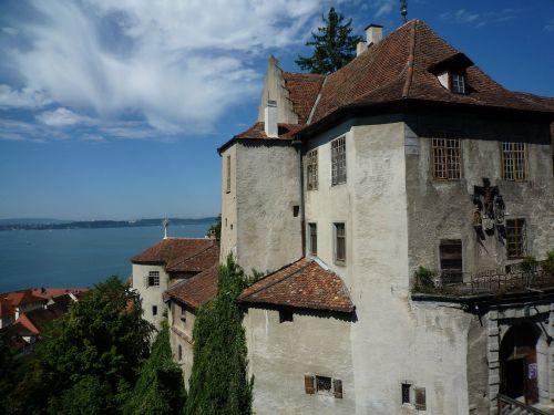 lake constance castle meersburg