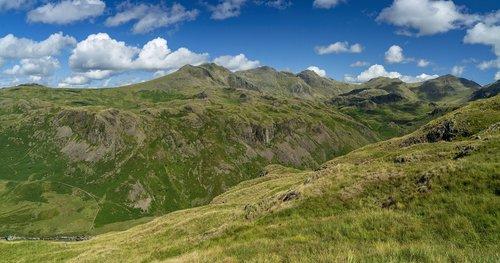 lake district  mountains  cumbria