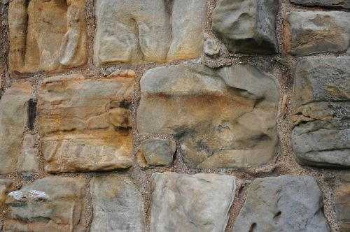 lake dusia stone stone wall