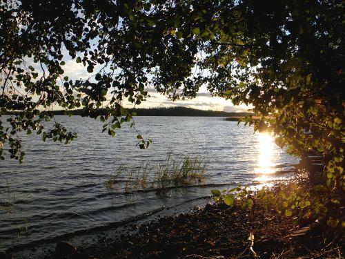 lake in finland savonlinna saimaa