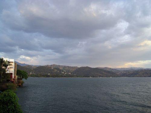 Lake Kivu In Africa