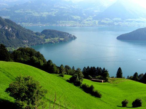 Lake Lucern Switzerland