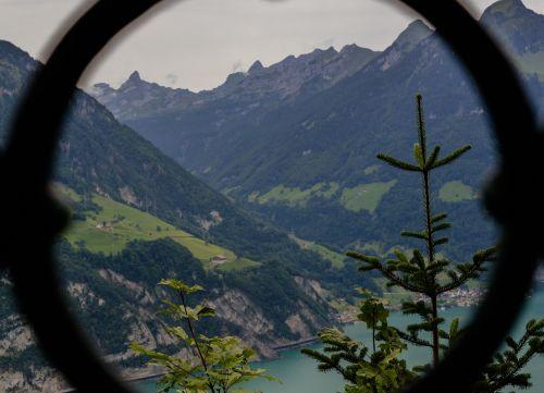 lake lucerne bergsee alpine
