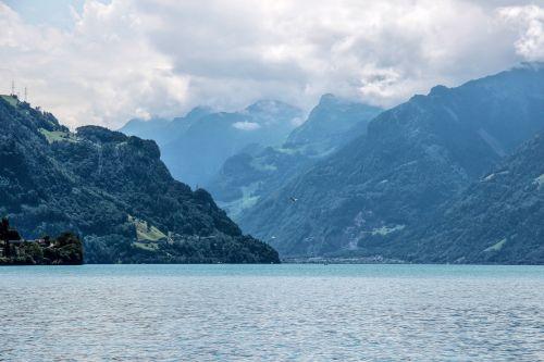 lake lucerne region lake switzerland