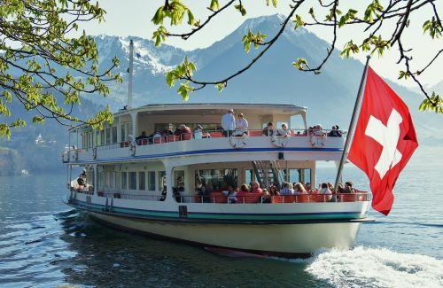 lake lucerne region ship lake