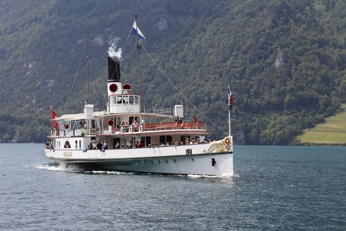 lake lucerne region  ds gallia  ship