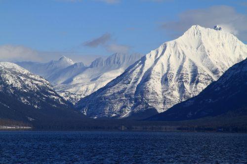 lake mcdonald continental divide mountain