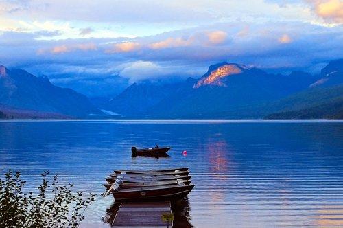 lake mcdonald rental boats  water  lake