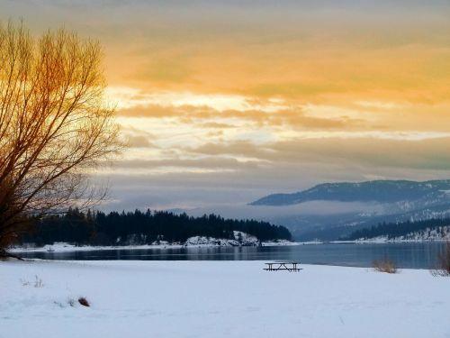 lake roosevelt washington state usa