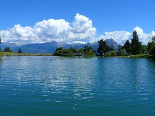 lake st apollinaire lake landscape