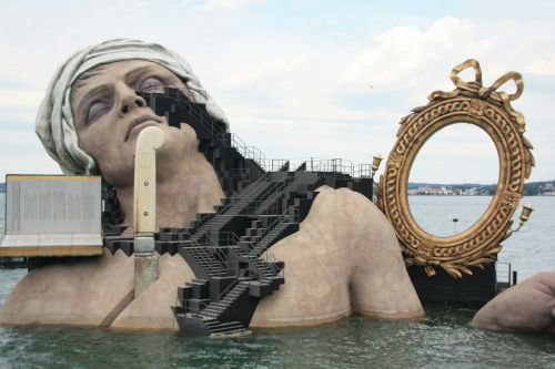 lake stage bregenz mirror
