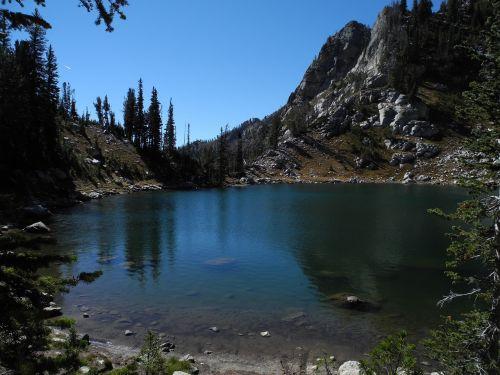 lake surprise grand teton nature