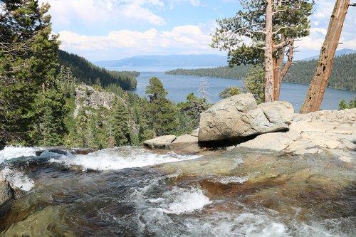 lake tahoe  water  nature