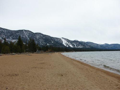 lake tahoe beach lake