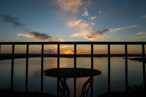 lake travis austin texas sunset