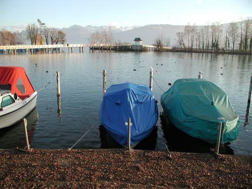 lake zurich boats view