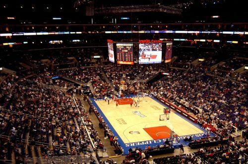 basketball arena match