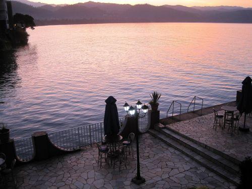 Lakeside At Dawn