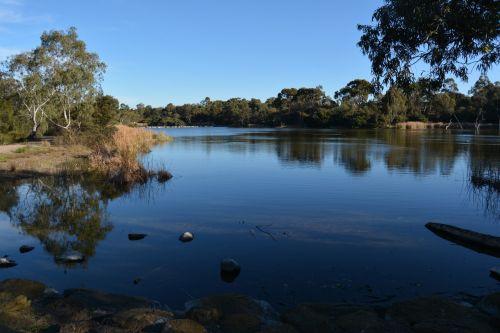 Lakeside Scene Australia
