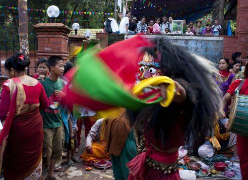 lakhe newar festival