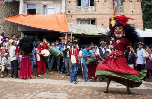 lakhe festival nepal