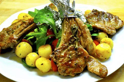 lamb lamb chop meat