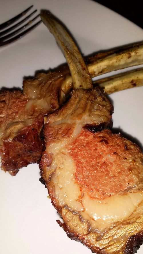 lamb chops food