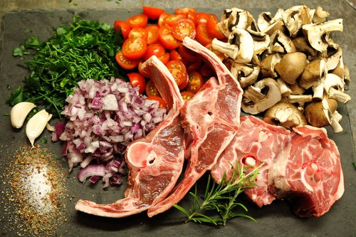 lamb  lamb meat  food