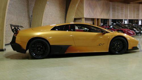 Lamborghini Murcielago SV Side View