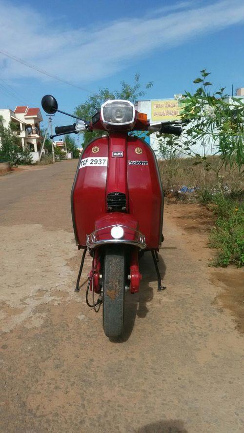 lamby polo scooter
