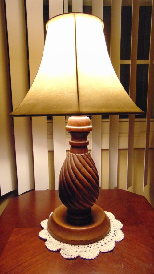 lamp old fashion old