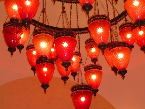 lamp lamps red
