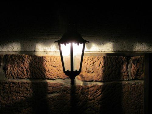lamp lantern wall