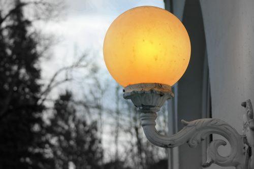 lamp light wall