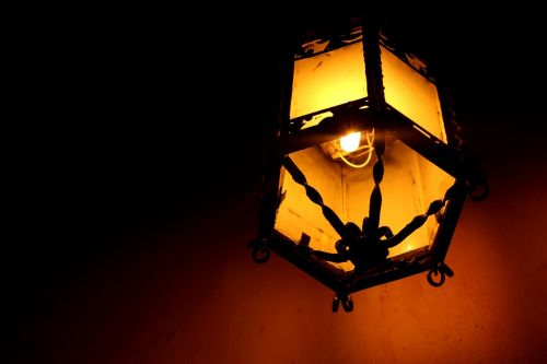 lamp light old