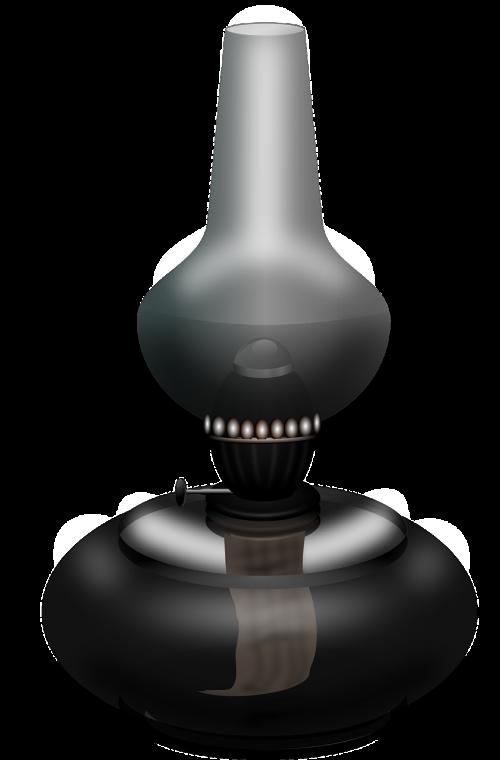 lamp light oil