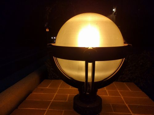 lamp decoration illuminated