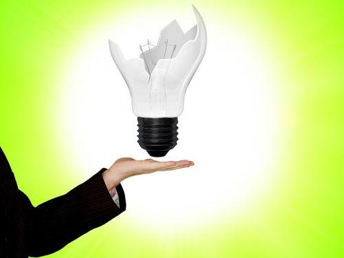 lamp hand bulb