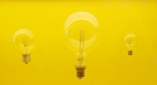lamp idea yellow