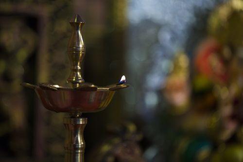 lamp prayer hindu