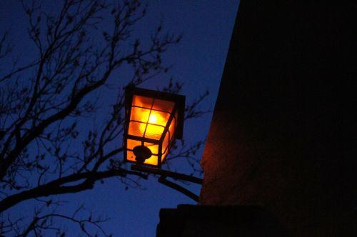 lamp lantern street lamp