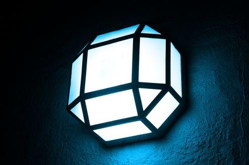 lamp blue light