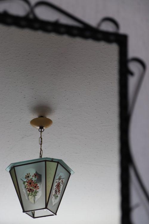 lamp mirror mirroring