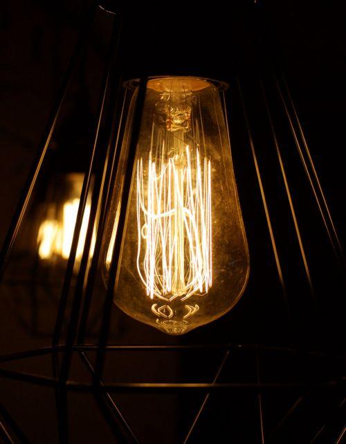 lamp light illuminated