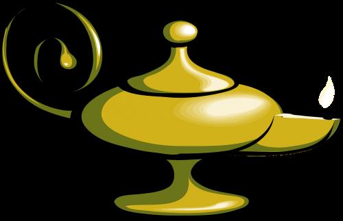 lamp magic wish