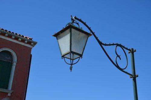 lamp  lantern  sky