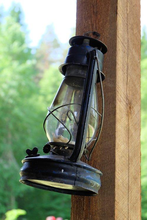 lamp  kerosene lamp  light