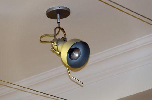 lamp overhead ceiling luminaire