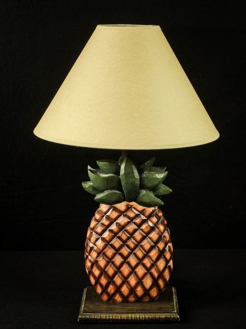 lamp pineapple shade